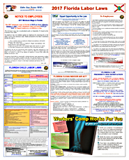 2017 Florida Labor Law Posters