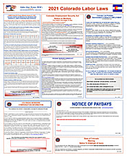 2021 Colorado Labor Law Posters